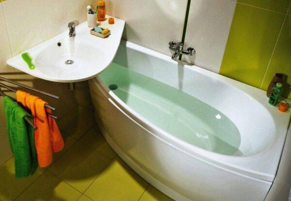 Как выбрать умывальник в маленькую ванную