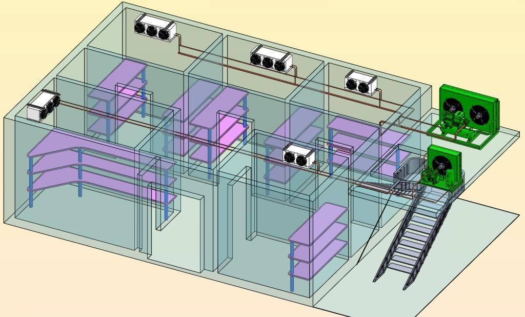 Как происходит монтаж холодильного оборудования?