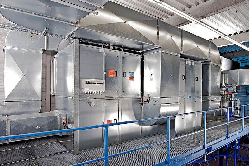 Сфера использования автоматизированной вентиляции
