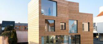 Строим деревянный панельный дом