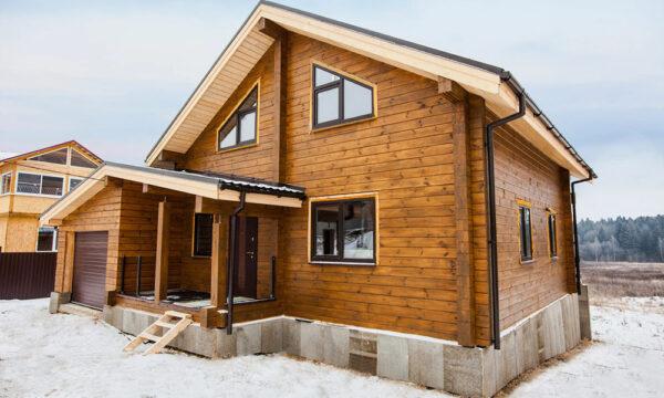 Усадка и осадка деревянных домов