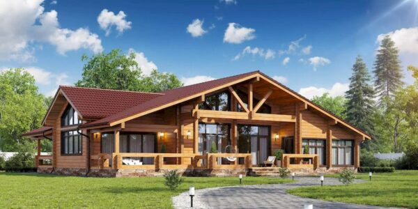 Деревянный дом за городом – прекрасная альтернатива покупке квартиры