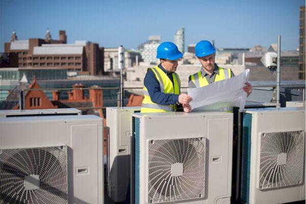 Монтаж вентиляционной системы и кондиционерного оборудования