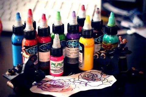 Выбираем качественную краску для тату машинки