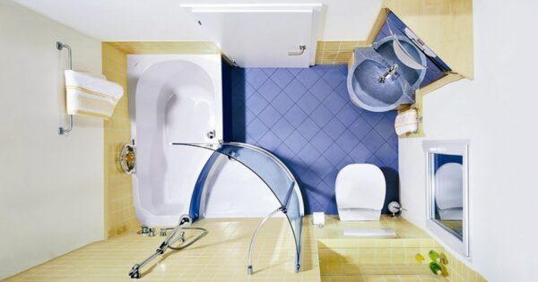 Недостатки маленькой ванны превращаем в преимущества